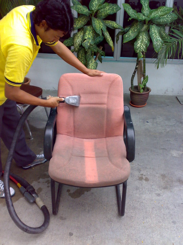 Upholstery Fabric Panel Cleaning